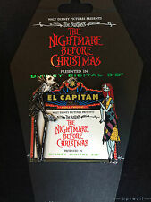 DSF Disney JACK & SALLEY MARQUEE 3-D Nightmare Before Christmas LE 300 Pin