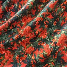 Jersey silk wool designer fabric 1,8 yards Italian fashion dress suit printed