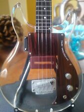 Dan Armstrong See-Through 1:4 Scale Replica Bass ~Axe Heaven~