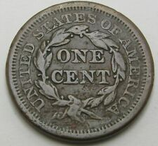 USA Braided Hair Cent 1851 - Copper - 3281