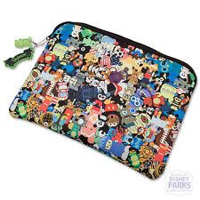 """Disney Parks Vinylmation Laptop Sleeve Bag 13"""" w/ JR Vinyl keychain"""
