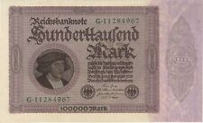 Deutsches Inflation Papiergeld (1919-1924)
