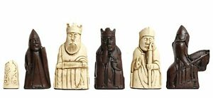 The Isle of Lewis Antiqued Chess Pieces