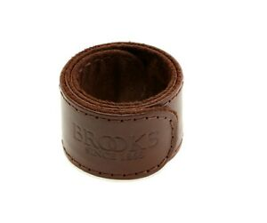 Brooks Trouser Strap Leather Pant Leg Strap Bicycle Single Strap Dark Brown NEW