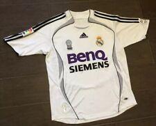 Youth Real Madrid ADIDAS BenQ BECKHAM Sz L 14-16 Siemens Home Soccer Jersey