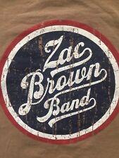ZAC BROWN BAND 54 USA Cities Country Music Sensation Adult Rare EUC T-shirt M
