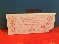 Football Ticket - SK Slovan Bratislava - NK Dinamo Zagreb - UEFA - 2000