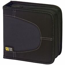 Case Logic CDW32 32 Capacity Classic CD Wallet (Black), New, Free Shipping