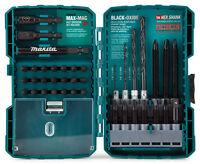 Makita 38 Piece Impact Driver Bit Set Tradesman Tools Drill Perfect As Gift