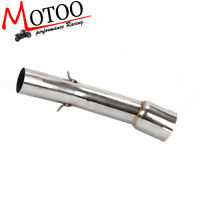 Soto-racing Exhaust Pipe Middle Pipe Slip On For YAMAHA FZ1 FZ1N FZ 1000 2006-15