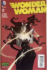 Wonder Woman #45 Comic Book NM 1st Print Monsters Of The Month Variant Cover
