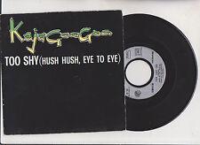 KAJAGOOGOO  - TOO SHY  ( eye to eye ) -  45 tr 1983  Pathé EMI 07700. tube.