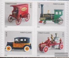 US 3588-3591 Blok van vier postfris MNH 2002 Oud Speelgoed