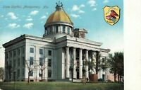 Postcard State Capitol Montgomery Alabama