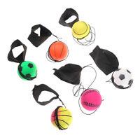 60mm Bouncy Wrist Band Ball Elastic Rubber Ball Wrist Bounce Ball cbNICA
