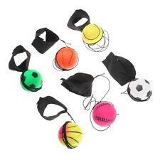 60mm Bouncy Wrist Band Ball Elastic Rubber Ball Wrist Bounce Ball FBCA