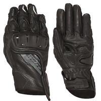 Weise Remus Full Grain Motorcycle short glove - Black - REDUCED