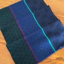 PAUL SMITH WOOL & SILK BLEND CUBE CITY SCARF MADE IN ITALY......RARE!!!!