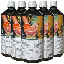 Aloe Vera Trink-Gel, mit Honig, 5 Liter Vorratspack, #30012