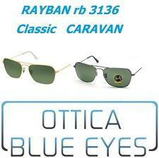 Ray-ban Uomo 3136 Occhiali da sole Nero (negro) 58