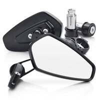 Motorcycle Rear View Mirrors Anti-glare 180° Rotating  for Honda Kawasaki Yamaha