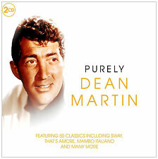 DEAN MARTIN ~ PURELY ( HITS / BEST OF )  NEW AND SEALED 2CD SET IN CARD SLIPCASE