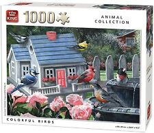 Animals Cardboard 1000 - 1999 Pieces Jigsaws & Puzzles