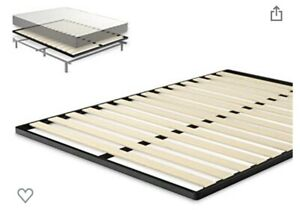 zinus Vertical Wood Supports Slats For Bed frame