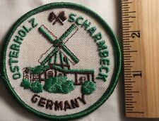 OSTERHOLZ SCHARMBECK GERMANY PATCH (STATE, SOUVENIR, WINDMILL)