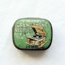 GRAMOPHONE NEEDLE TIN - Embassy - Extra Loud Tone (150) [NEEDLE TIN]