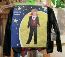 DISGUISE HALLOWEEN COSTUME TODDLER SZ. 2T VAMPIRE 3 PC SET NEW W/ TAG