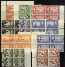 Colony George VI (1936-1952) British Blocks Stamps