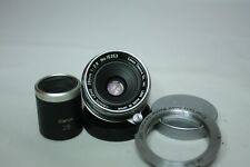 Canon 28mm f/2.8 L39 LTM Leica Screw Mount Lens +28mn finder + M Mount adaptor