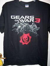 Gears of War 3 Skull Delta Squad Black Short Sleeve Shirt Mens Size 2XL XXL NWT