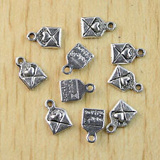 """70pcs Tibetan silver""""made with love""""charms h1030"""