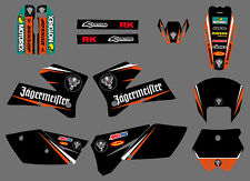 Graphics Stickers Decals Deco Full Kit For KTM 250 SX SXF 2005 2006 250 XCF 2007