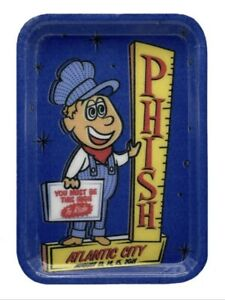 Phish Tray Rolling Tray Atlantic City AC Summer Tour 2021 High To Ride Dry Goods