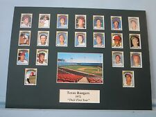 "1972 The Texas Rangers managed by Ted Williams - ""Their First Year in Texas"""