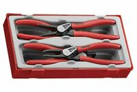 Teng Tools 2019 SALE 19-60mm Circlip Pliers Tool Set Internal External + Case
