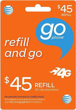 At&T - At&T Prepaid $45 Refill Top-Up Airtime Directly to your Account. Fast