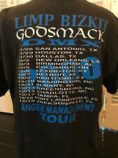 Rare Limp Bizkit Godsmack Dmx Tour Shirt Size Xl Alternative Rock Metal