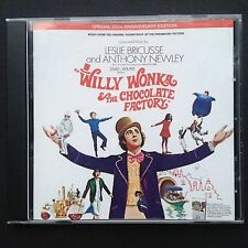 Leslie Bricusse's WILLY WONKA & THE CHOCOLATE FACTORY soundtrack CD Gene Wilder