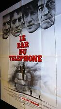 LE BAR DU TELEPHONE ! affiche cinema 1980