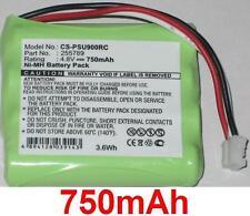 Batterie 750mAh type 255789 Pour Philips TSU7000/37