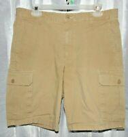 Dockers Mens Beige Cargo Shorts Size 34