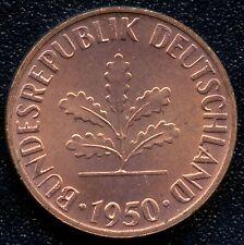 New listing Germany 1950 'G' 1 Pfennig Coin