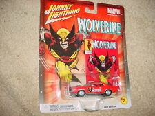 JOHNNY LIGHTNING MARVEL WOLVERINE '70 HEMI CUDA CHASE RUBBER TIRES FREE USA SHIP