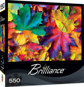 Masterpieces Puzzle Brilliance Collection Fall Frenzy Puzzle 550 pieces