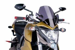 Motorcycle windshield PUIG for Honda CB1000R 11-16 smoke