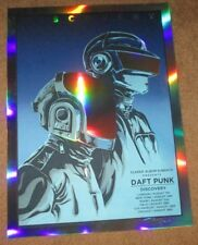 DAFT PUNK concert tour poster Discovery flood gallery RAINBOW FOIL tim doyle
